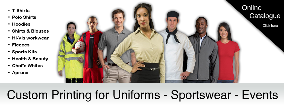 Workwear sportswear events printing